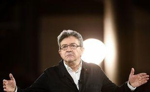 Jean-Luc Mélenchon à Lille, le 12 avril 2017.