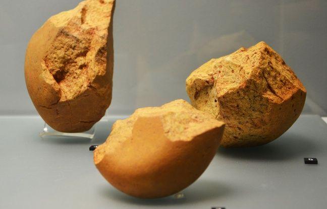 Les outils sont les plus vieux trésors découverts depuis 2012 lors des fouilles préventives.