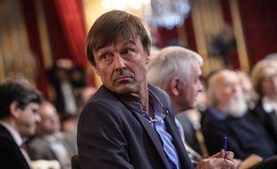 Nicolas Hulot, le 27 novembre 2014 à l'Elysée.