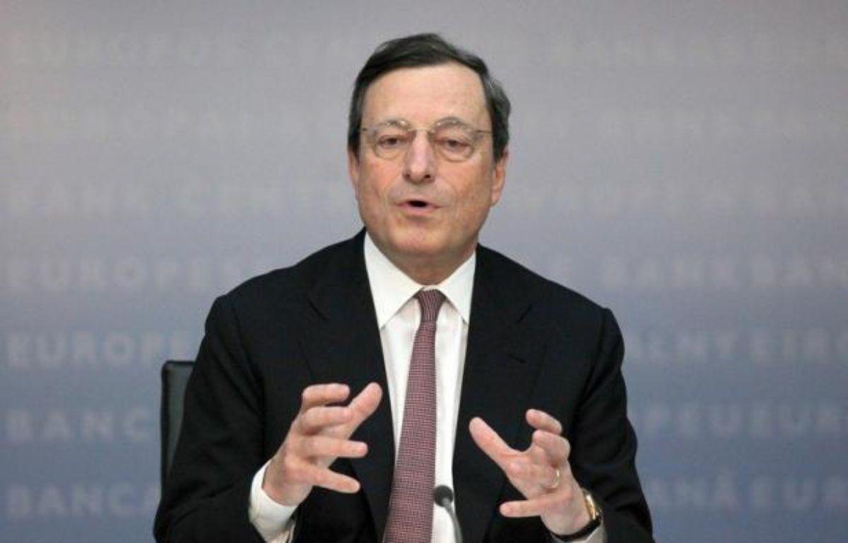 Tous les regards étaient braqués jeudi vers la Banque centrale européenne (BCE), dans l'attente de ce qu'elle pourrait annoncer face à la crise de la zone euro, après les espoirs soulevés la semaine dernière par son président. – Fredrik Von Erichsen afp.com