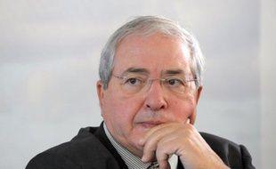 Jean-Paul Huchon, actuel président socialiste de la Région Ile-de-France.
