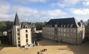 Nantes, le 17 octobre 2019, Le château des ducs de Bretagne
