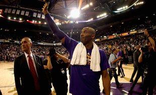 Kobe Bryant, des Los Angeles Lakers, le 7 janvier 2016, à Sacramento.