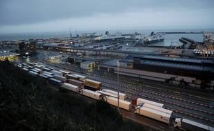 Le port de Douvres, dans le sud-est de l'Angleterre.