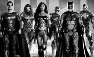 « Justice is gray », la version noir et blanc de « Justice League » est la préférée de Zack Snyder, également disponible sur OCS
