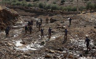 Les intempéries en Jordanie ont fait treize morts.