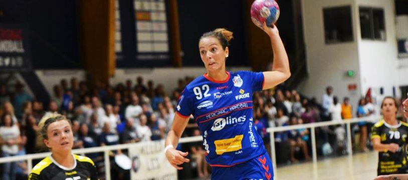 Audrey Deroin a signé un contrat de deux ans avec le Mérignac Handball.