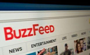 La page principale du site américain Buzzfeed.