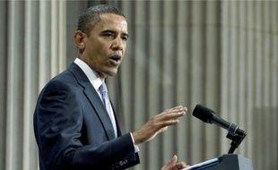 Barack Obama a réaffirmé hier vouloir réformer les règles de la finance.