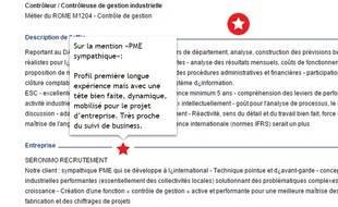 Extrait de l'analyse de l'offre d'emploi par Gilles Payet