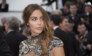 Nabilla au 71ème Festival de Cannes.