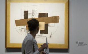 L'exposition Georges Braque au Grand Palais, à Paris, en septembre 2013.