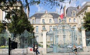 La préfecture Martenot, à Rennes, où réside le préfet de la région Bretagne.