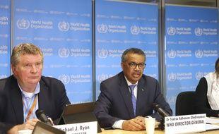 Le chef de l'OMS, Tedros Adhanom Ghebreyesus, est à Pékin.