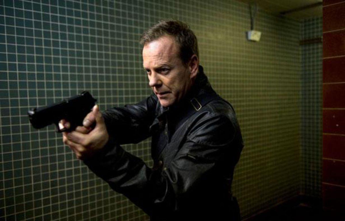 Kiefer Sutherland, alias Jack Bauer, dans 24: Live Another Day, saison 9 de la série 24 heures chrono – 2014 Fox Broadcasting