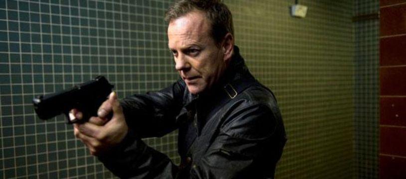 Kiefer Sutherland, alias Jack Bauer, dans 24: Live Another Day, saison 9 de la série 24 heures chrono
