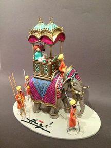 Vente aux enchères de figurines et autres objets autour de Tintin le 15 octobre à Toulouse