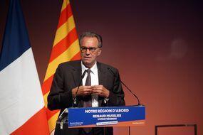 Renaud Muselier cherche à se faire réélire à la tête de la région Paca