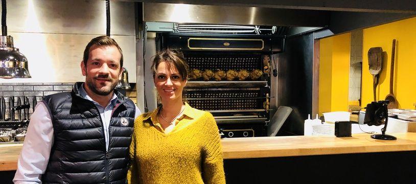 Simon Darnauzan et sa femme ont ouvert leur établissement en plein centre-ville de Bordeaux.