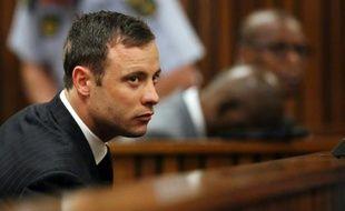 Oscar Pistorius à l'énoncé du verdict le 12 septembre 2014 à Pretoria