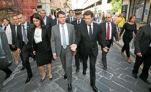 """""""Il faudra du temps et du travail"""", a notamment affirmé Manuel Valls."""