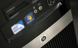 Un ordinateur HP (illustration).