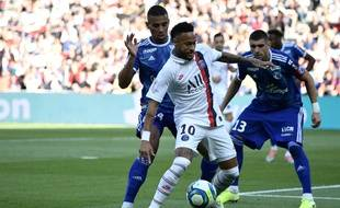 Neymar contre Strasbourg
