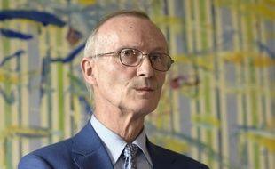 L'avocat Patrick Baudouin, président d'honneur de la FIDH, le 23 octobre 2014 à Paris