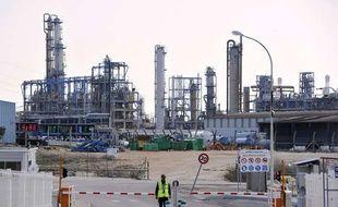 Le site du groupe chimique Kem One à Lavera, dans le sud de la France, le 26 mars 2013.