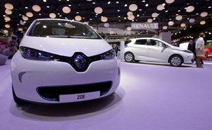 La Renault Zoé fait partie des succès du constructeur français.