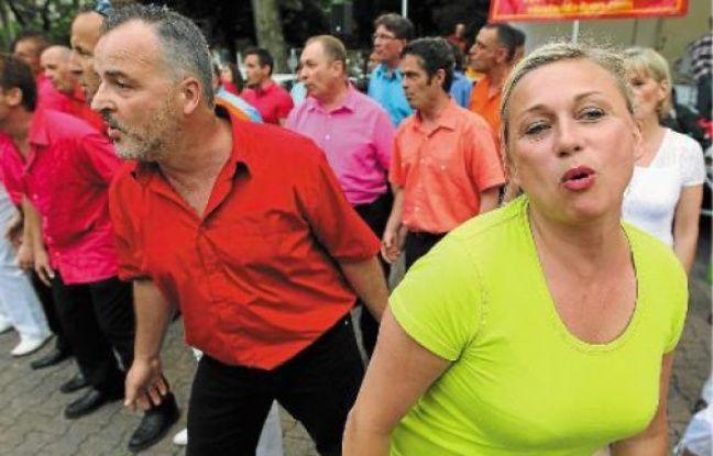La Chorale Vida la vida se produit ce vendredi soir place des Terreaux