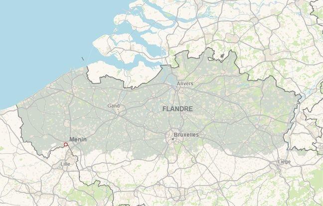 Le vol s'est produit à Menin en Belgique, commune frontalière avec la France.
