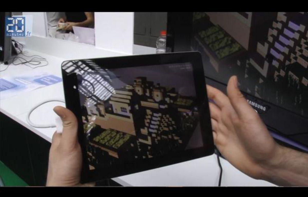 Augment, application de réalité augmentée – Jonathan Duron / 20 Minutes