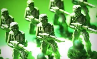 Des petits soldats (illustration).