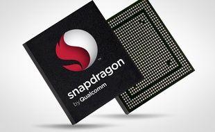 Une puce Snapdragon de Qualcomm pour smartphone (illustration).