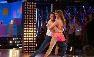 Anthony Colette et Iris Mittenaere sur le plateau de «Danse avec les Stars».