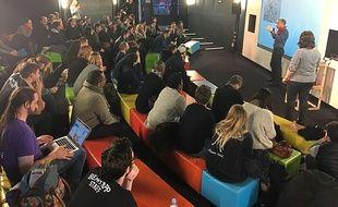 Le hackathon organisé par Lilly a eu lieu à l'école 42, du 18 au 20 janvier.