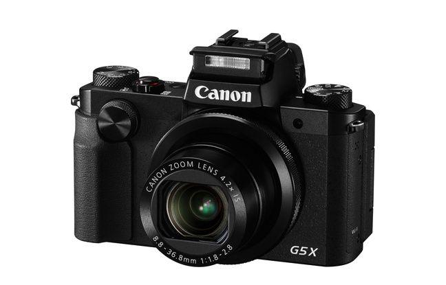 Le Canon PowerShot G5 X.