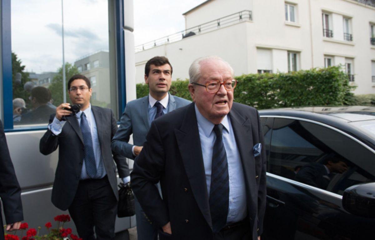 Jean-Marie Le Pen, le 25 mai 2014. – LCHAM/SIPA