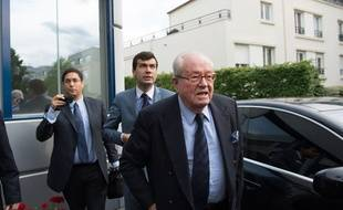 Jean-Marie Le Pen, le 25 mai 2014.