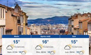 Météo Marseille: Prévisions du vendredi 26 avril 2019