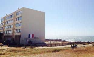 L'immeuble Le Signal à Soulac-sur-Mer (Gironde) en août 2015