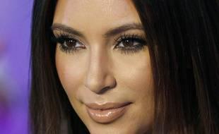 Kim Kardashian sur un tapis rouge en octobre 2012.