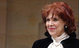 Assia Djebar, à Paris le 22 juin 2006.