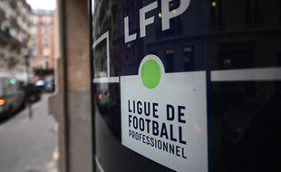 Le siège de la Ligue de football professionnel à Paris.