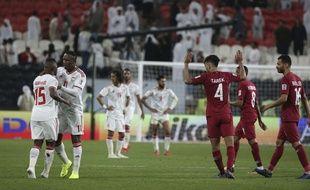 Le Qatar a battu les Emirats arabes unis en demi-finale de Coupe d'Asie.