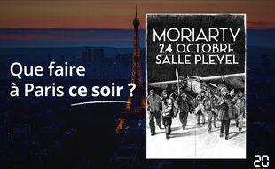 Moriarty jouera ce soir à la salle Pleyel.