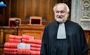 L'avocat Bernard Ripert à Lyon le 2 avril