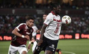 Eder lors du match entre Lille et Metz le 13 août 2016.