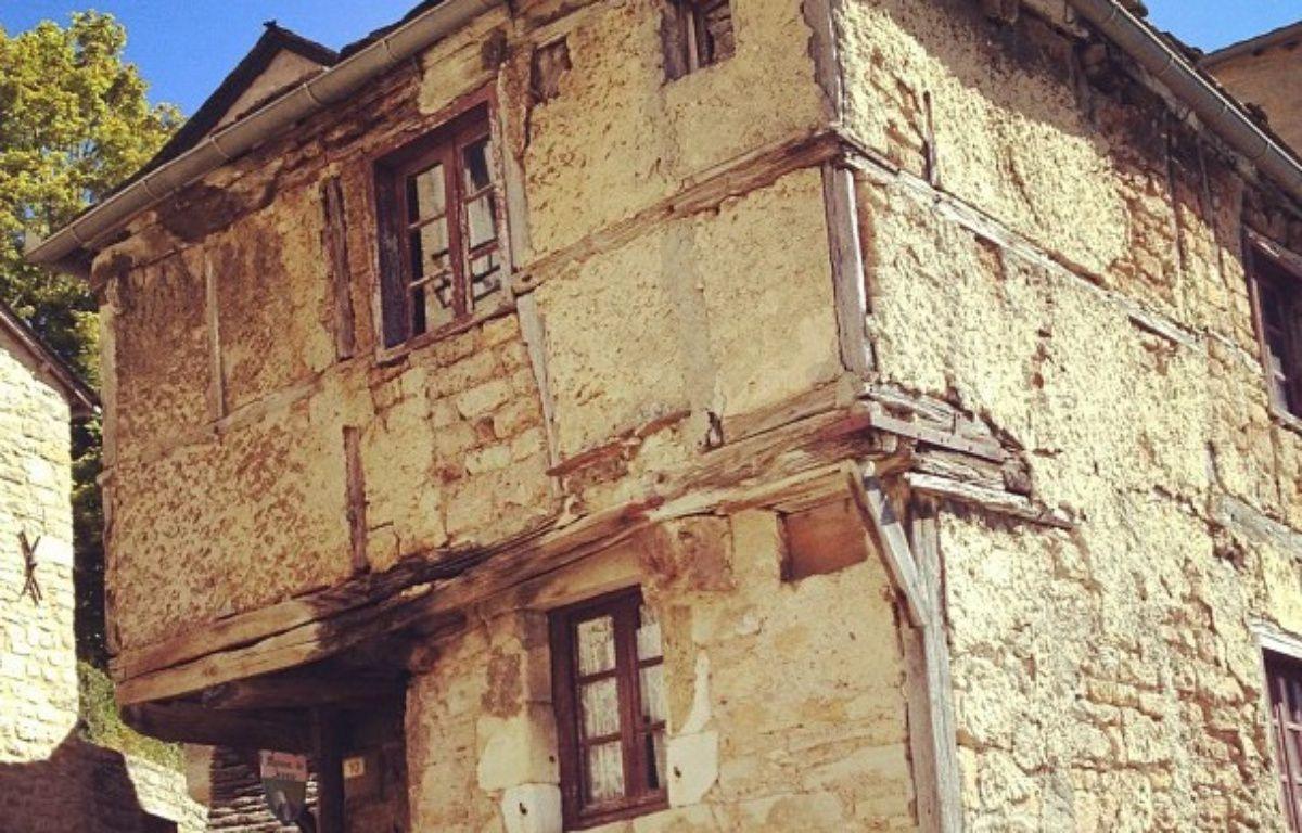 La maison de Jeanne, l'une des plus vieilles maisons de l'Aveyron. – Flickr